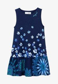 Desigual - Jumper dress - blue - 0