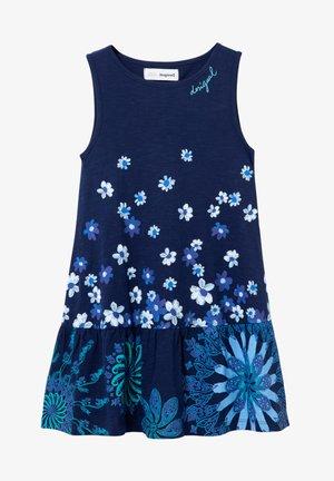 Pletené šaty - blue
