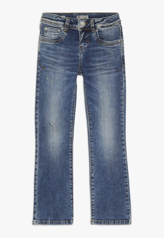 VALERIE - Straight leg jeans - dina wash
