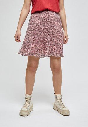 RIKKA - A-line skirt - pink flower print