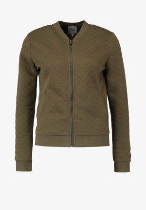 ONLJOYCE - Zip-up hoodie - kalamata