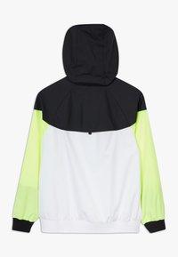 Nike Sportswear - Sportovní bunda - white/black/volt - 1