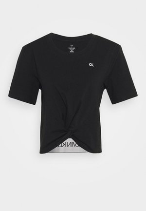 SHORT SLEEVE - Print T-shirt - black