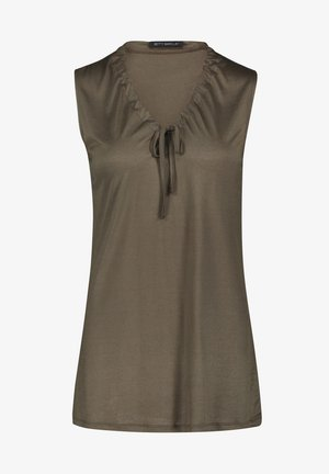 Top - dusty olive