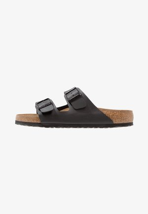 ARIZONA SOFT FOOTBED - Sandalias planas - black