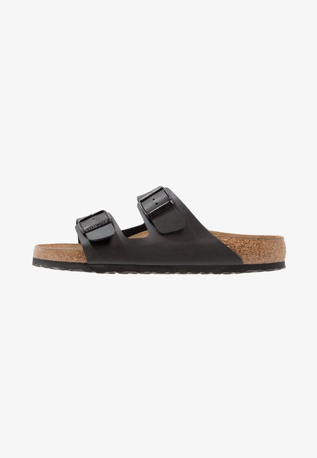 ARIZONA SOFT FOOTBED - Sandaler - black