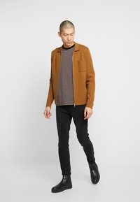 Scotch & Soda - SKIM  - Slim fit jeans - black out - 1