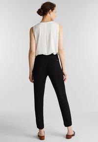 Esprit - Teplákové kalhoty - black - 2