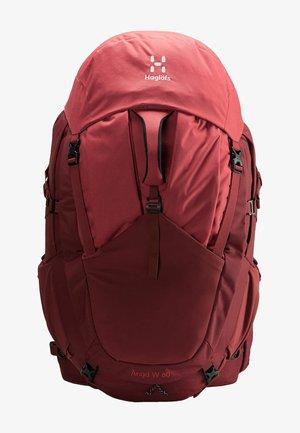 Sac de trekking - light maroon red/brick red s-m