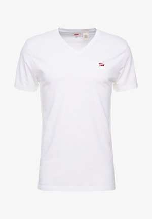 VNECK - T-shirt - bas - white