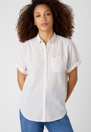 Button-down blouse - lavander haze