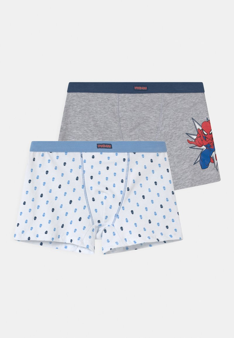 OVS - 2 PACK - Boxerky - grey/white