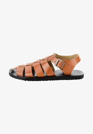 QUARTAJA - Sandals - brown