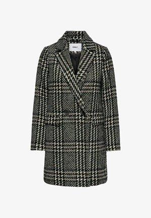 Short coat - black,brown, beige