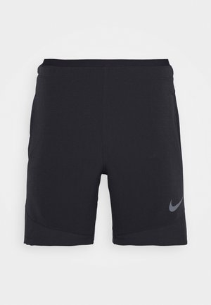 FLEX - kurze Sporthose - black/iron grey