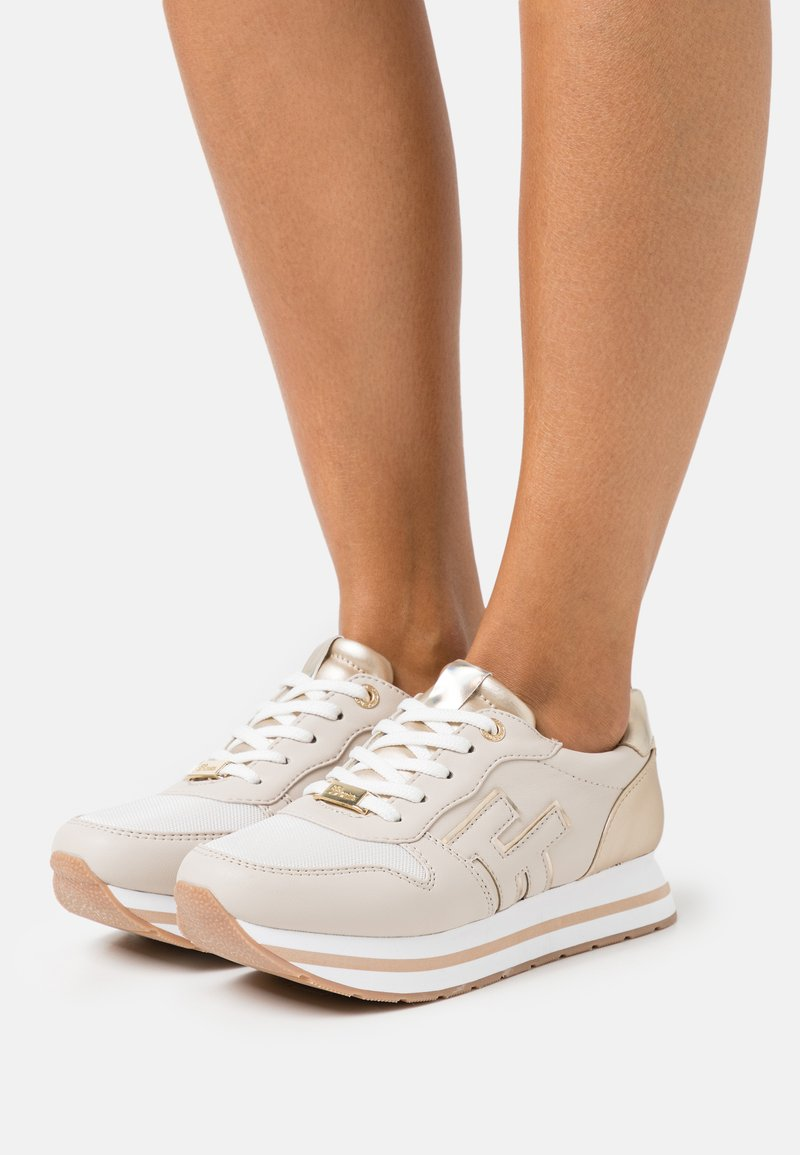 TOM TAILOR DENIM - Sneakers laag - beige