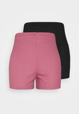 CYCLING 2 PACK - Shorts - black/pink