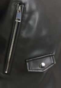 Freequent - FQSANDY - Faux leather jacket - black - 2