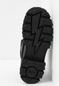 Buffalo - VEGAN ASPHA MID - Platåstøvletter - black - 6