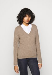 FTC Cashmere - Jumper - natural taupe - 0