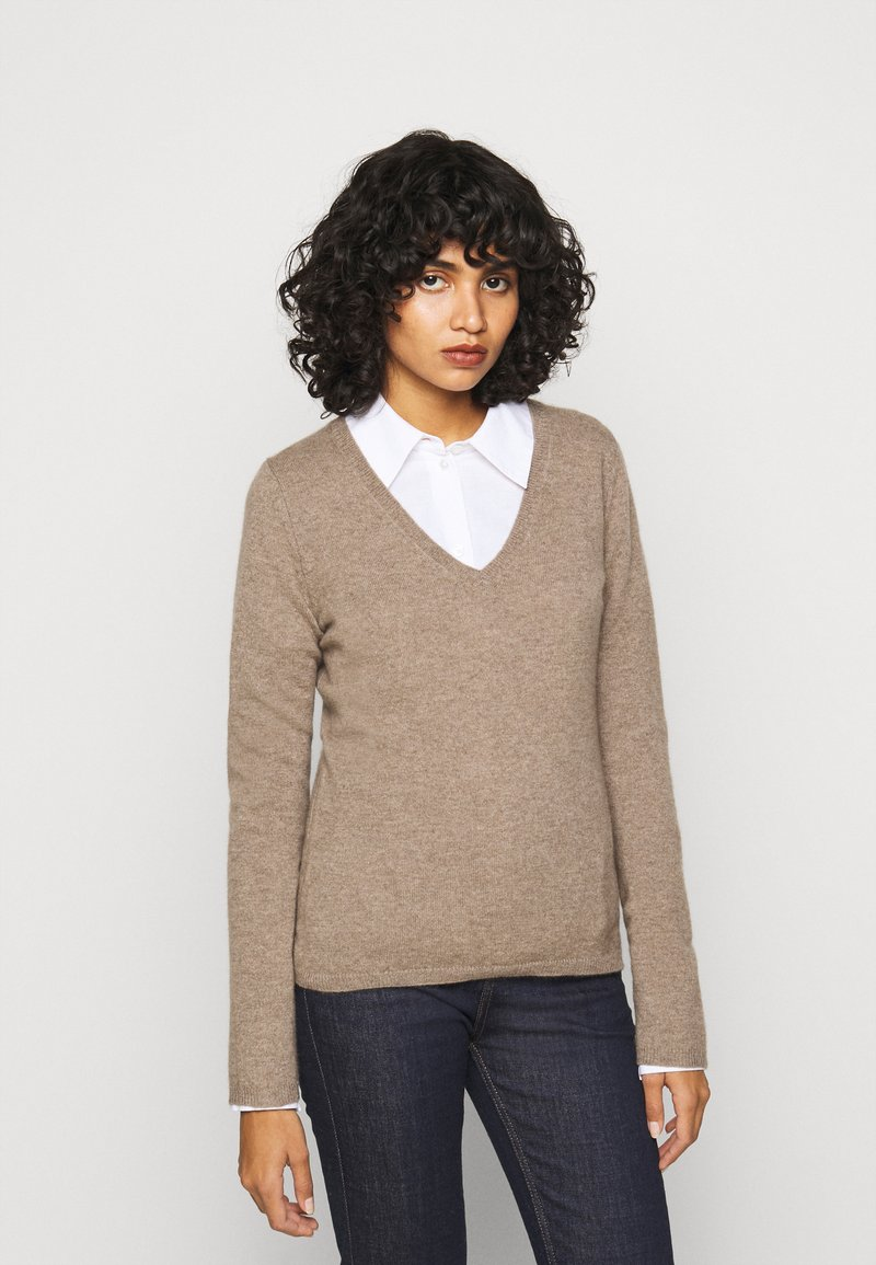 FTC Cashmere - Jumper - natural taupe