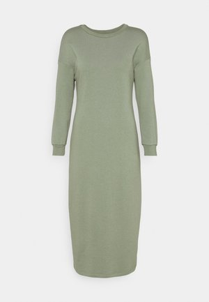 LONG LINE DRESS - Day dress - pistachio