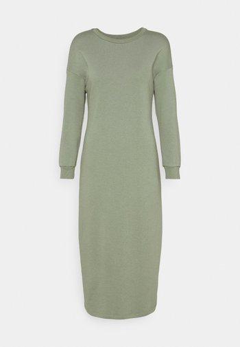 LONG LINE DRESS - Day dress - pistachio