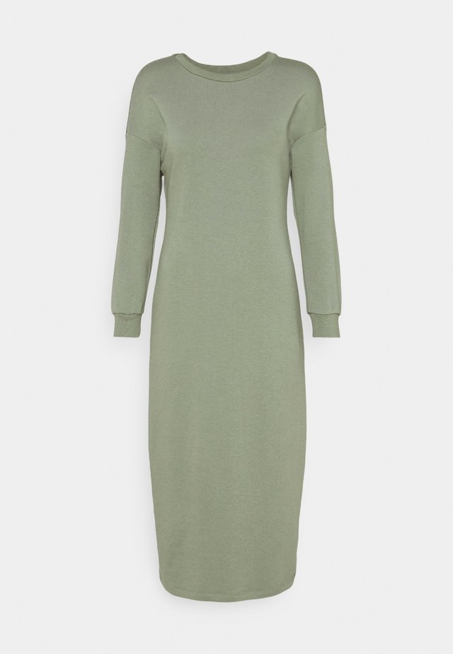 LONG LINE DRESS - Korte jurk - pistachio