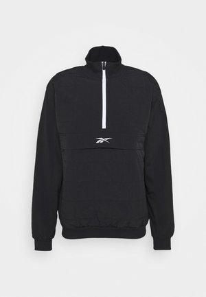 QUILTED ZIP - Træningsjakker - black