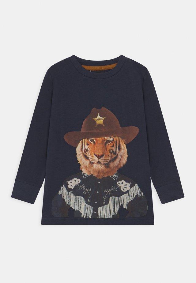 TUCKER  - Pitkähihainen paita - navy blazer