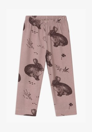 CUTE RABBITS BABY - Leggings - pink