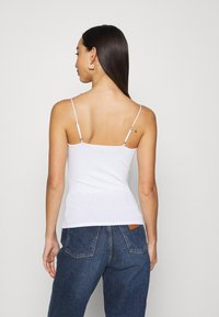 Hollister Co. - BARE CAMI 3 PACK - Top - white/grey/black - 2