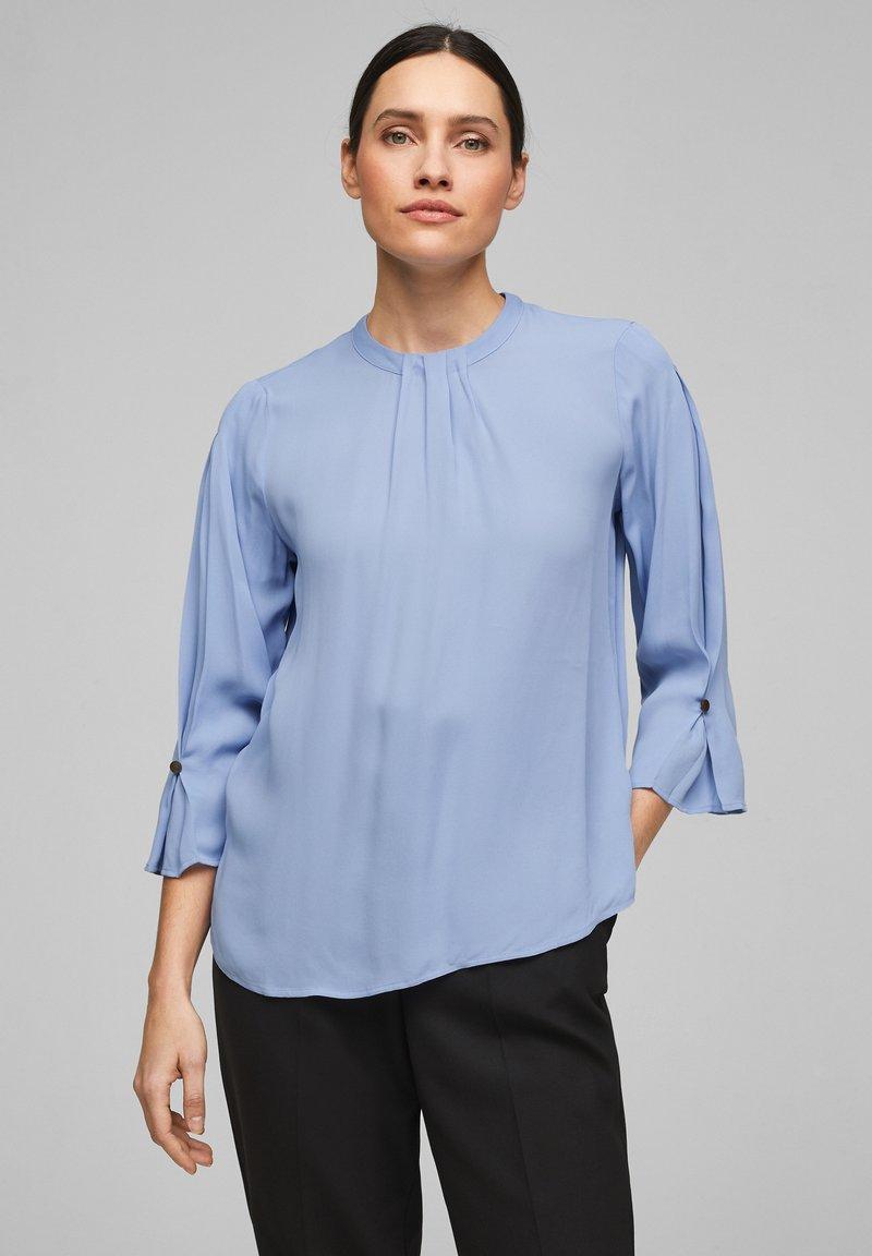 s.Oliver BLACK LABEL - Blouse - light blue