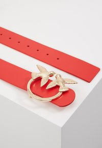 Pinko - BERRI SIMPLY BELT - Pasek - red - 3