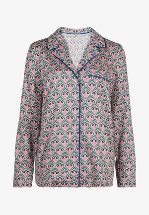 Pyjama top - milchshake, fantasievolles geomuster
