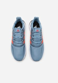 adidas Performance - RUNFALCON UNISEX - Neutral running shoes - tactile blue/semi solar red/core black - 3