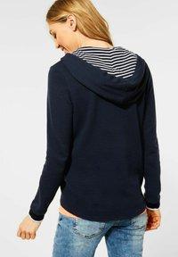 Cecil - OTTOMAN - Zip-up sweatshirt - dark blue - 1
