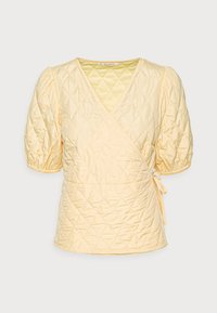 REYA BLOUSE - Print T-shirt - lemon meringue