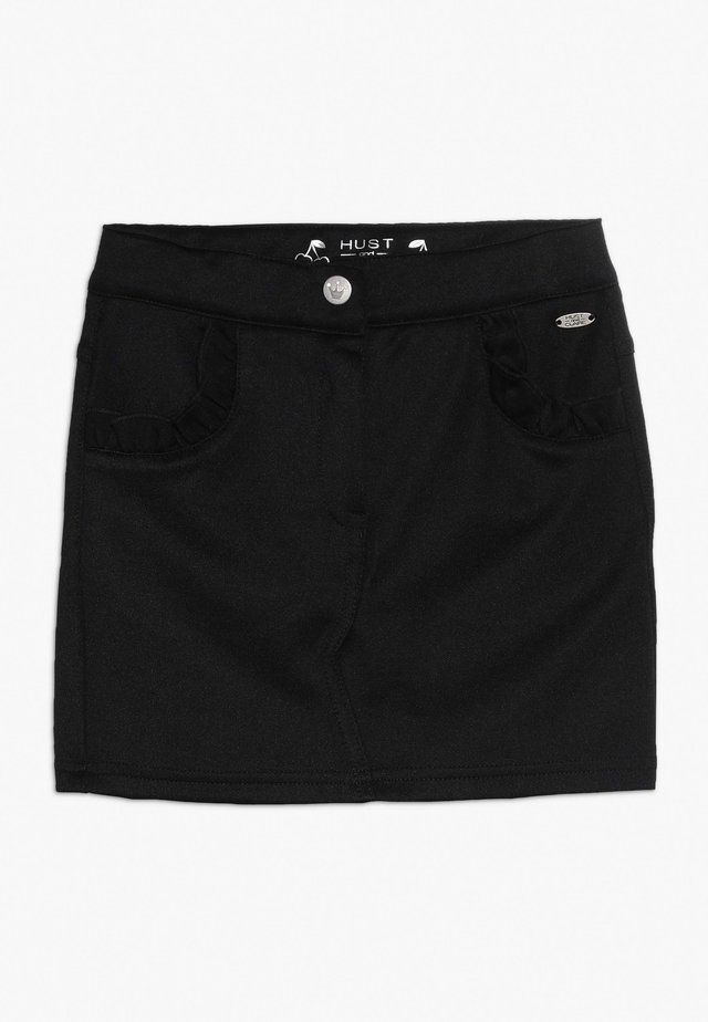 NADIA SKIRT - Minifalda - black