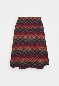 King Louie - BORDER SKIRT GUSTO - A-line skjørt - night blue - 1