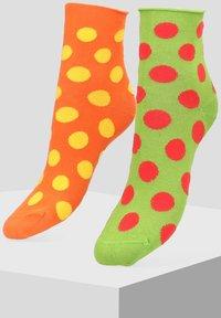 Libertad - 2 PACK - Socks - orange - 0