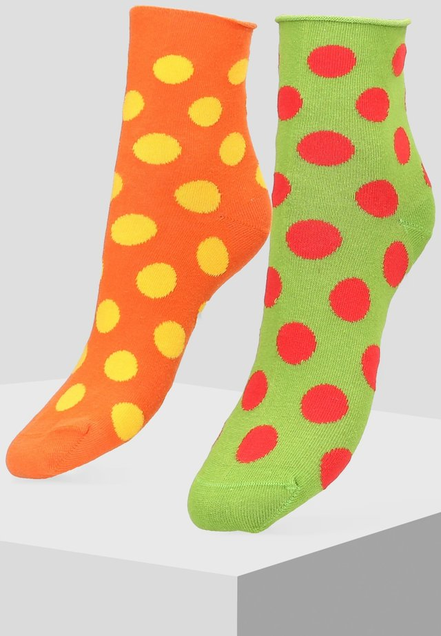 2 PACK - Socks - orange
