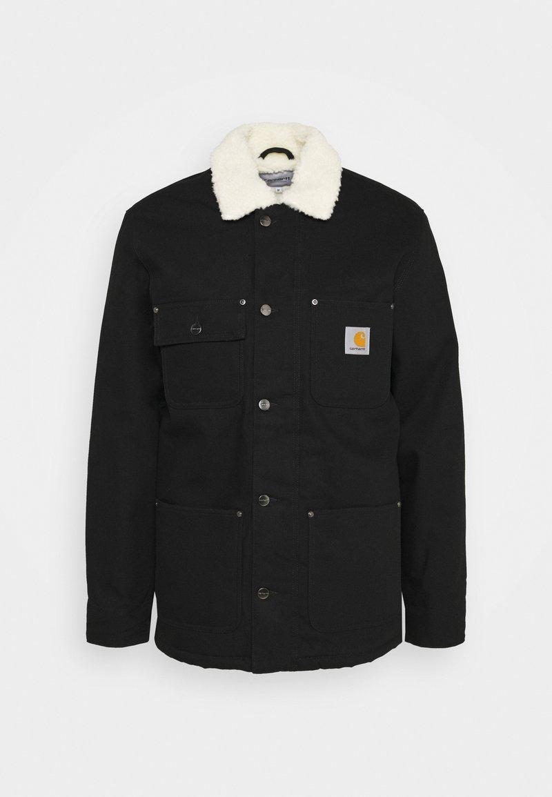 Carhartt WIP - FAIRMOUNT COAT DEARBORN - Zimní bunda - black rigid