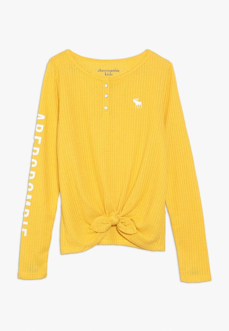 Abercrombie & Fitch - COZY HENLEY  - Trui - yellow