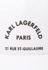 KARL LAGERFELD - UNISEX - Czapka z daszkiem - white - 4