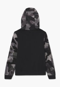 Nike Sportswear - CLUB - Zip-up hoodie - black/white
