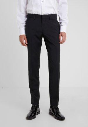 PAULIE TUX - Suit trousers - black