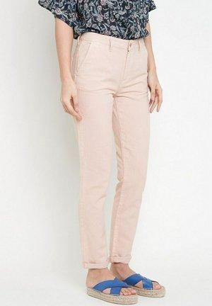 Slim fit jeans - rose pâle