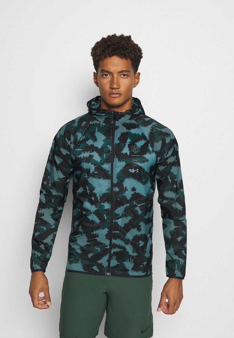 Under Armour - RUN ANYWHERE STORM  - Training jacket - lichen blue