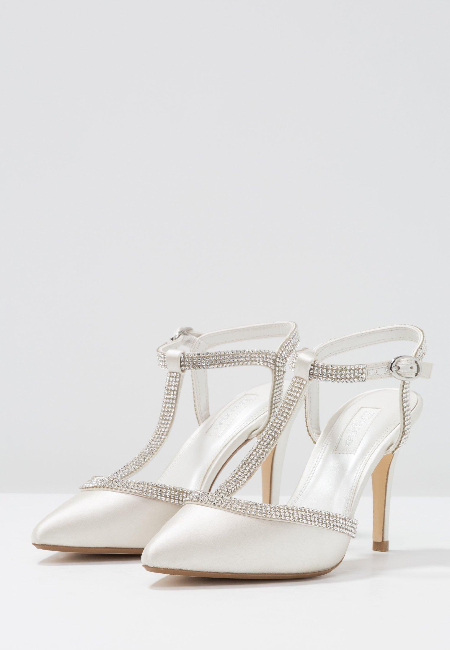 Halpa Ja Mukava Naisten kengät Sarja is9898fyuiHYDS8 Dune London DELIGHTES Korolliset avokkaat ivory